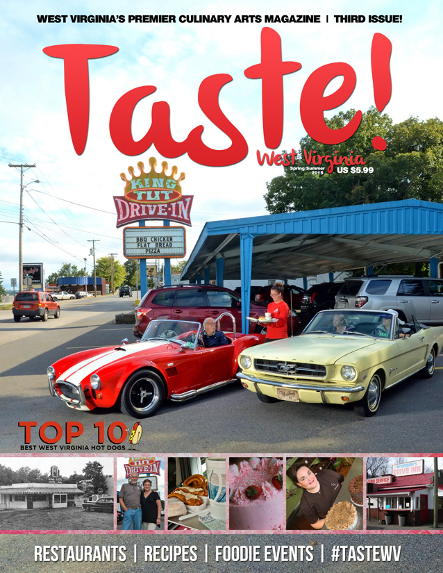 Taste WV Magazine - Spring - Summer Cover - FB